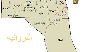 خريطة حي الفراوانية