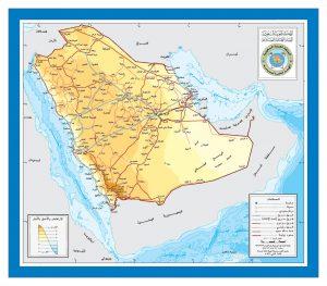 تضاريس المملكة العربية السعودية