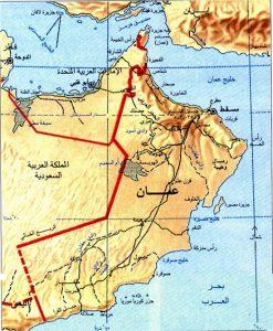 خرائط عمان