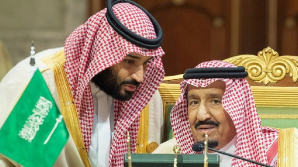 صور الملك سلمان ومحمد بن سلمان