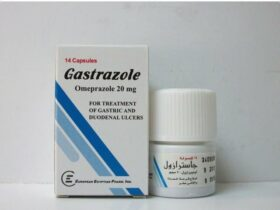 جاسترازول Gastrazole لعلاج قرحة المعدة والحموضة